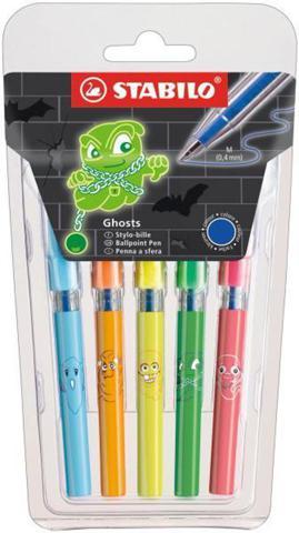 Набор шариковых ручек Mini Ghosts, 5 шт.