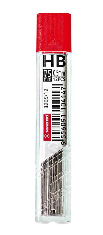 Грифели Hi-Polymer, 0,75 мм