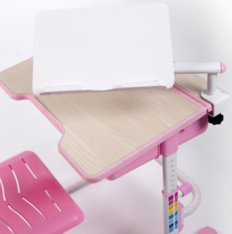 Растущая парта-трансформер Study2 со стулом Поворотная в двух плоскостях подставка для книг