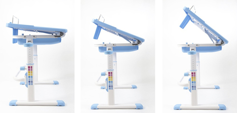 Растущая парта-трансформер Study2 со стулом Регулировка угла наклона столешницы