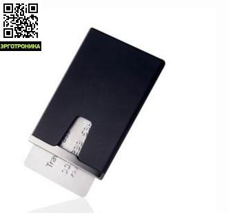 Кредитница Black TitaniumДля дома<br>Кредитница Black Titanium с устройством интеллектуальной звуковой сигнализации, которая всегда напомнит Вам положить кредитную карту на место. Как только Вы вынимаете кредитную карту из чехла, включается система защиты: каждые 20 секунд кредитница подает звуковой сигнал до тех пор, пока карта не окажется в чехле. Звуковой согнал достаточно тактичен и не привлекает лишнего внимания, обеспечивая безопасность использования кредитной карты. Данная модель относится к серии элегантных аксессуаров Black Titanium о<br>