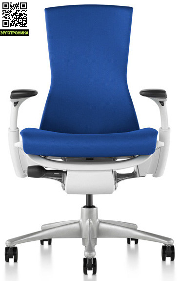 Кресло Embody от Herman Miller Rhythm Berry Blue