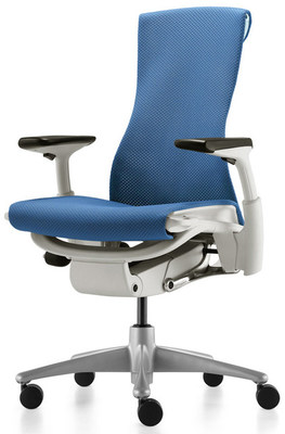 Кресло Embody от Herman Miller Balance Blue Moon