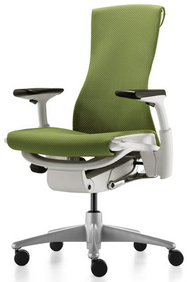Кресло Embody от Herman Miller Balance Green Apple