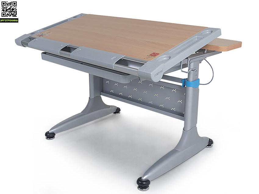 Растущая парта-трансформер Tokyo-2Детские парты<br>Качественный детский стол для занятий, при конструировании которого учитывались все требования по эргономике рабочего места школьника. Его важной особенностью является регулируемая по углу наклона столешница. Благодаря тому, что наклон столешницы изменяется от 0 до 30 градусов, ребенок всегда сможет выбрать максимально удобное для него положение при занятии письмом, чтением, рисованием или настольными играми. Это вопрос не только комфорта, но и правильной осанки, а также профилактики близорукости.<br>