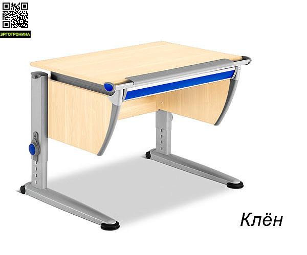 Парта-трансформер Runner CompactДетские парты<br>В сравнении с моделью стола-трансформера «Runner» «Runner Compact» впишется даже в небольшую детскую комнату. По длине он более узкий, всего 91 см, что позволяет ему быть не менее функциональным.<br>В большой выдвижной ящик, расположенный под столешницей, поместятся все необходимые школьные принадлежности.<br>