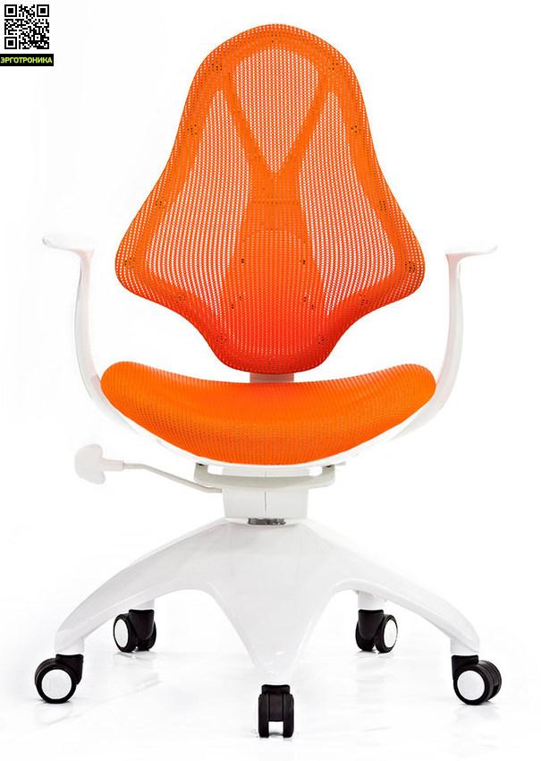 Детское кресло Falto Kids Mesh Оранжевая сетчатая ткань