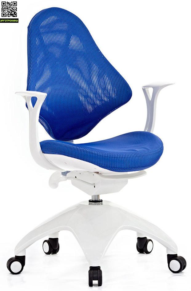 Детское кресло Falto Kids Mesh Синяя сетчатая ткань