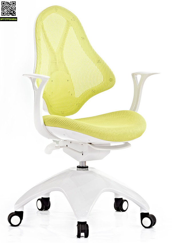 Детское кресло Falto Kids Mesh Светло-зеленая сетчатая ткань