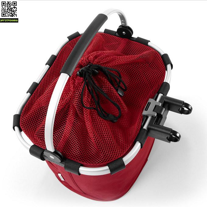 reisenthel bikebasket plus red 4800. Black Bedroom Furniture Sets. Home Design Ideas