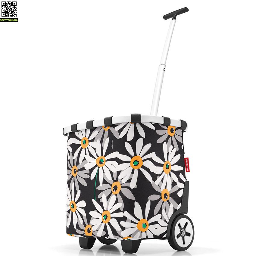 Сумка-тележка CarrycruiserДля дома<br>Сумка-тележка Carrycruiser прекрасно подойдет для шопинга. Тележка имеет плотный корпус, устойчиво стоит, не опрокидывается. Универсальные размеры сделают эту сумку-тележку вашим постоянным спутником в автомобиле. Она имеет большие колеса на шариковых подшипниках, удобный широкий ремешок, двойную телескопическую ручку с Т-рукояткой и съемную моющуюся подкладку.<br> Объем сумки 40 л.<br>