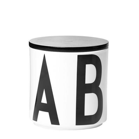 Банка для хранения с крышкой Design Letters