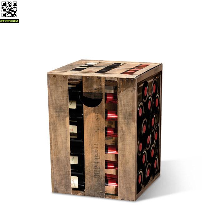 Табурет картонный EdelzwickerДля дома<br>Картонный табурет легко и быстро собирается,  сидеть на нем удобно, как на обычном деревянном или пластиковом стуле. Также табурет можно использовать как журнальный или прикроватный столик. Для экономии жилого пространства можно с легкостью собирать его после использования. Материал: гофрированный картон                             <br>Размер: 32,5 х 32,5 х 44,4 см                                   <br>Выдерживает вес до 200 кг<br>