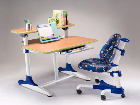 Детский стол Mealux BD-205 Синие вставки