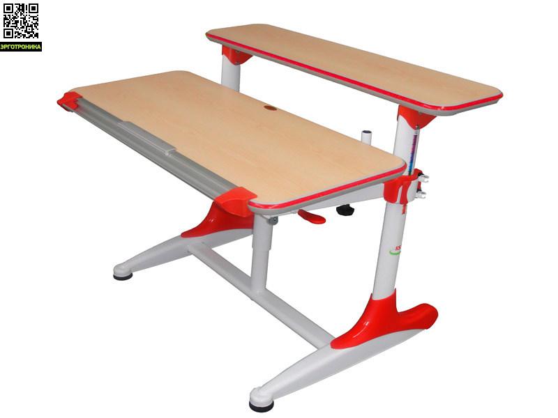 Детский стол Mealux Dali Красные вставки