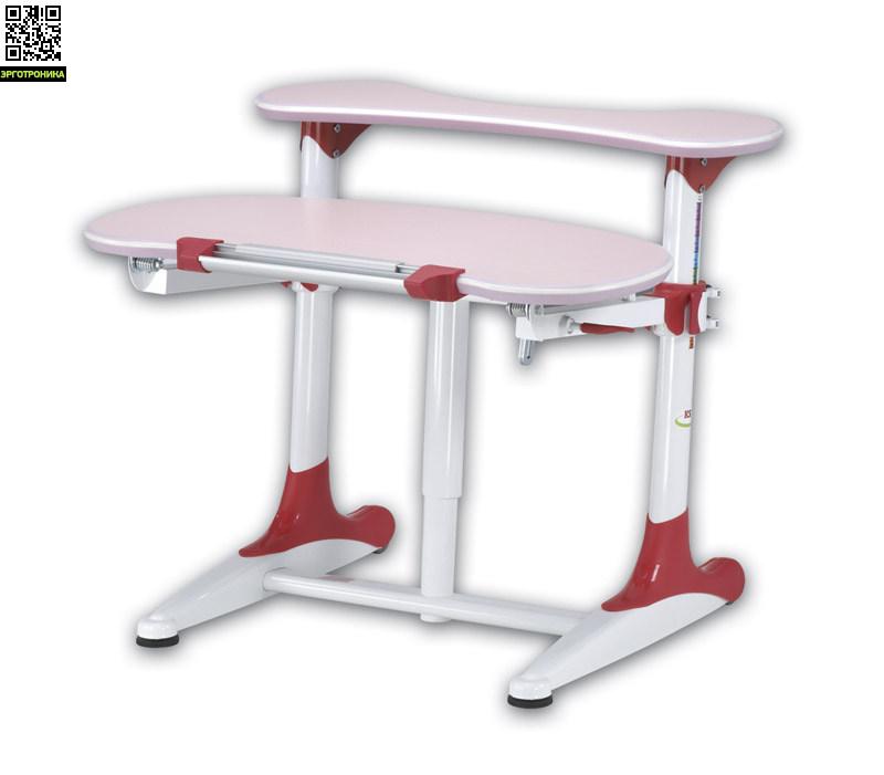 Детский стол Mealux Milan BD-306Детские парты<br>Детский стол BD-306 имеет овальную столешницу и заднюю полку, благодаря оригинальному дизайну, станет украшением любой детской комнаты. Не имеет острых углов, а его ножки устойчивы и надежны, благодаря чему он абсолютно безопасен для детей.На ножках стола имеется маркировка роста ребенка, что поможет правильно подобрать нужную высоту стола. По периметру столешница имеет силиконовую противоударную кромку, что защищает малыша от возможных травм.Спереди стол имеет удобный пенал для канцтоваров и линейку препят<br>