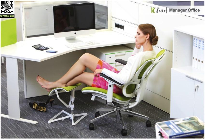 Подставка для ног Leg Pro Ottoman (Ergohuman)