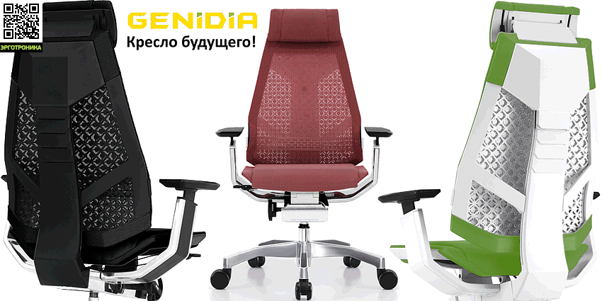 Компьютерное кресло «GeniDia-Mesh»