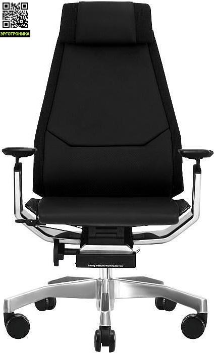 Компьютерное кресло «GeniDia LUX»Эргономичные кресла<br>Разработчиками было принято все возможное для защиты и сохранения здоровья будущих обладателей «гениального» офисного кресла «GeniDia LUX». Оно ориентировано на руководителей, о чем безусловно свидетельствует применение такого престижного обивочного материала, как натуральная кожа класса «lux». Высокая эргономичность позволяет работать, сидя в кресле продолжительное время, и не чувствовать усталости.<br>