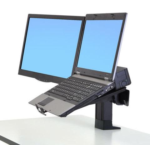 Ergotron WorkFit Кронштейн для монитора и ноутбука 97-907