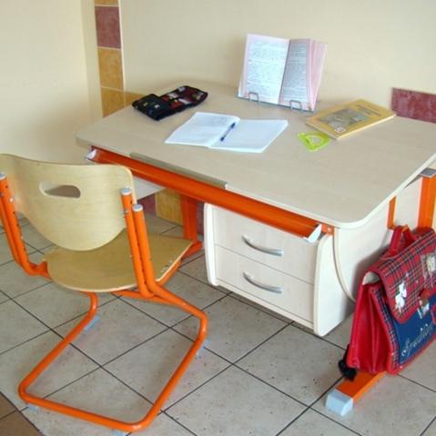 Парта Моно + Тумба 2 ящика + Стул SK-2
