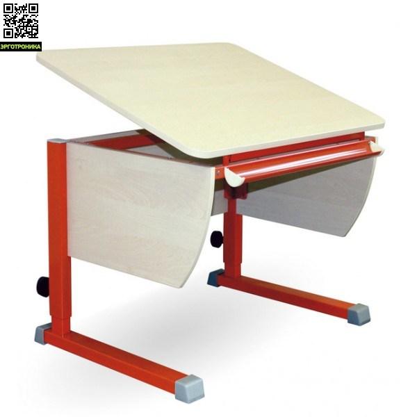 Парта КолибриДетские парты<br>Регулируется высота стола от 53 до 78 см. Размеры столешницы: 80х58 см.  Регулируемый угол наклона от 0 до 45 град.<br>