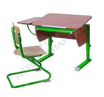 Парта Колибри + стул SK-2 + боковая приставка
