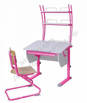 Парта Колибри + стул SK-2 + надстройка