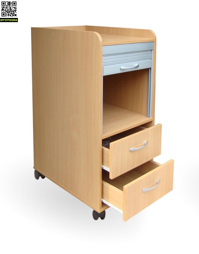 Тумба Астек с жалюзиДетская мебель: тумбы, стеллажи, приставки<br>5 цветов на выбор. Возможно подвесить к партам Твин и Моно.Возможно установить на колесики и  разместить на полу, и получите удобную подставку для принтера, системного блока или других необходимых предметов. Размер: высота 34 см., длина 41 см., глубина 59 см.<br>