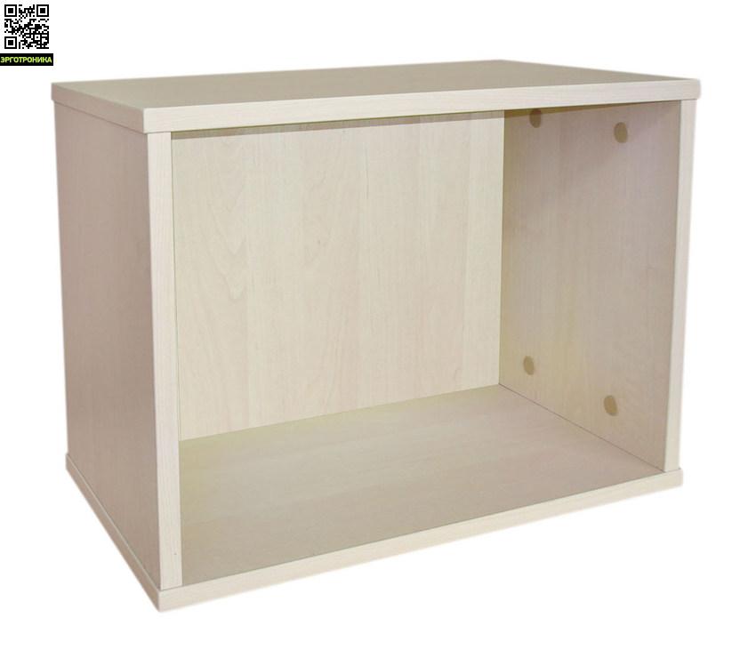 Полка навесная АстекДетская мебель: тумбы, стеллажи, приставки<br>Простая, удобная, полезная и недорогая - вот её главные качества. Хорошо смотрятся на стене несколько полок в шахматном порядке. Материал: ЛДСП сертифицирован для использования в детской мебели.Три цвета корпуса (ЛДСП) на выбор: береза, бук или яблоня, как ЛДСП у парт Астек, т.е. полностью сочетаются с этими партами.Размер: 46х24х34.2 см.<br>