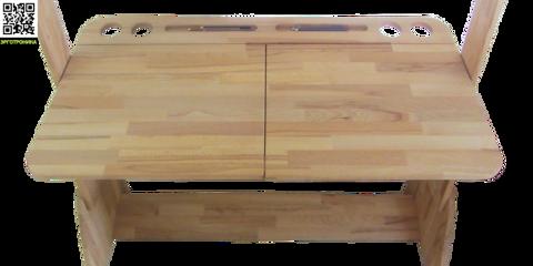 Парта-растишка Школярик С-412, 120 см. с двумя пеналами, стульчиком и  тумбой