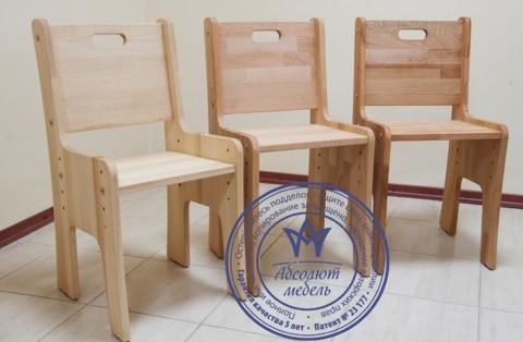 Парта-растишка Школярик С-886  для двоих без пенала с двумя стульчиками