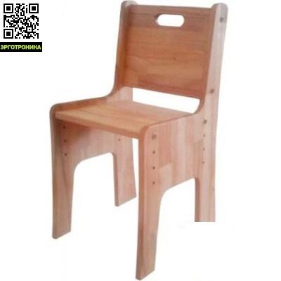 Стульчик-растишка Школярик С-300Регулируемые стулья<br>Стульчик-растишка из натурального дерева бук Школярик C-300. Материал - натуральное дерево бук. Покрытие - льняное масло. Преимущества: экологически чистое покрытие - льняное масло или лак на водной основе. Размер стульчика: 37,6х33,6х66,3. Регулируется высота стульчика, глубина не регулируется. Гарантия - 2 года.<br>