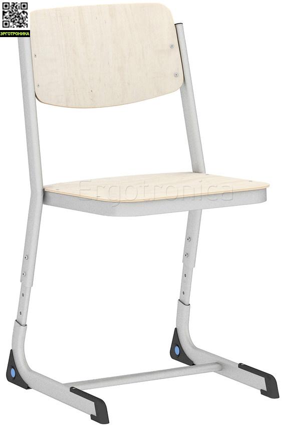 Регулируемый ученический стулРегулируемые стулья<br>Удобный и простой ученический стул с регулировкой по высоте<br>