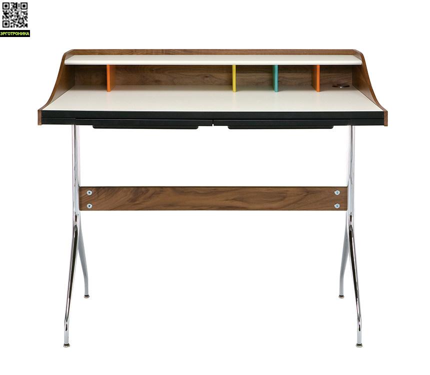 Рабочий стол Nelson Swag Leg DeskСтолы<br>Уникальный дизайнерский стол с множеством секретов<br>