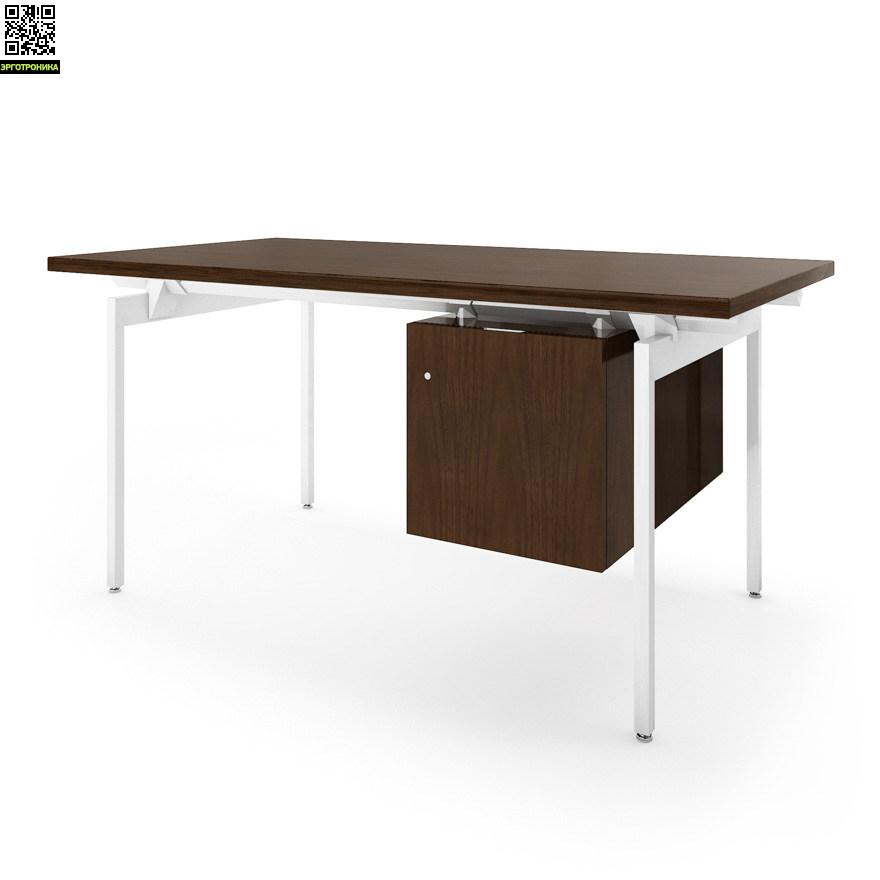 Стол с подвесной тумбой Antenna® DeskСтолы<br>Великолепный дизайнерский стол с подвесным кабинетом<br>