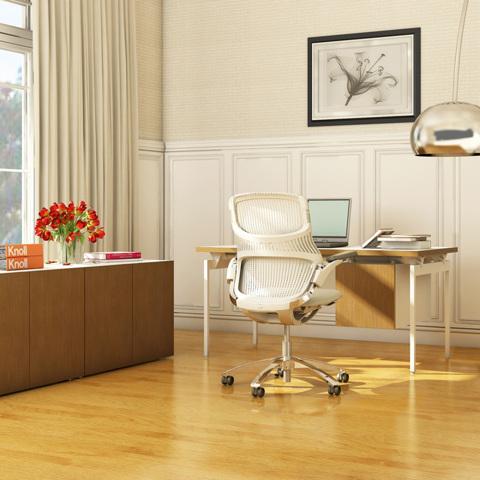 Стол с подвесной тумбой Antenna® Desk