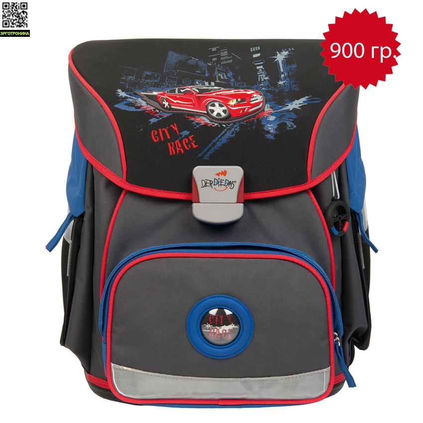 Школьный ранец DerDieDas 404 X-Light со светодиодами от Эрготроника