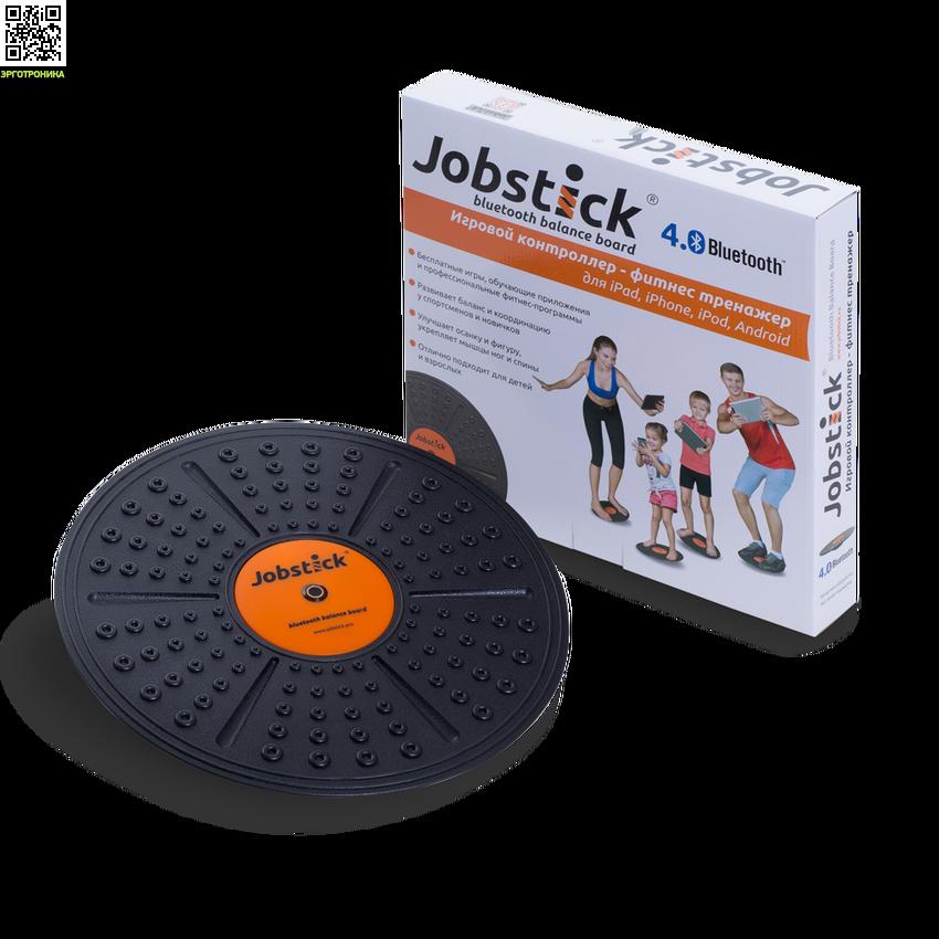 Фитнес тренажер Jobstick FunФитнес<br>Помогает поддерживать организм в тонусе<br>Способствует улучшению координации<br>Способствует снижению веса<br>