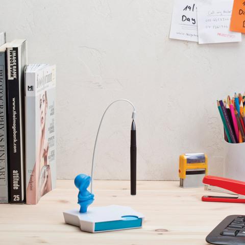 Держатель для ручки и блок для записей Eskimemo