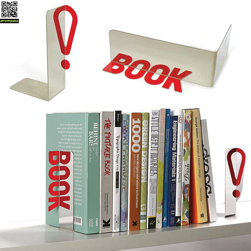 Ограничитель для книг ReflectiveПорядок на столе<br>Кто сказал, что порядок - это сложно?<br>