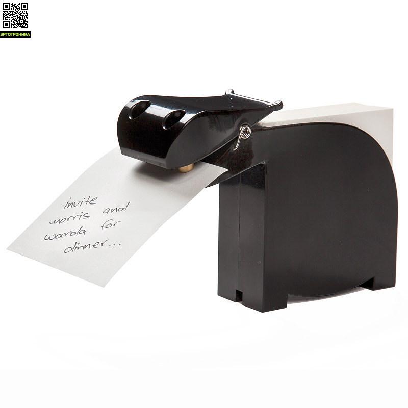 Держатель для записок с блоком BiancaПорядок на столе<br>Напомнит о самых важных делах.<br>
