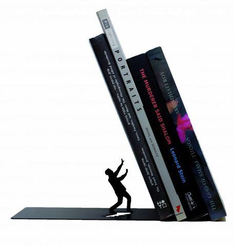 Держатель для книг Falling bookend
