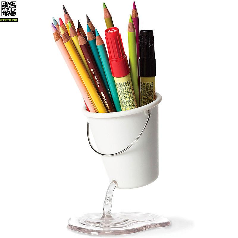Органайзер для рабочего стола Desk BucketПорядок на столе<br>Вместительный и оригинальный органайзер<br>