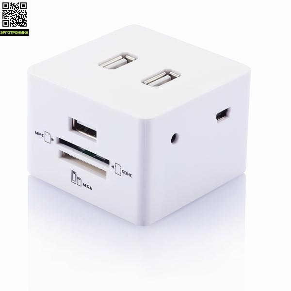 Переходник USB + картридер