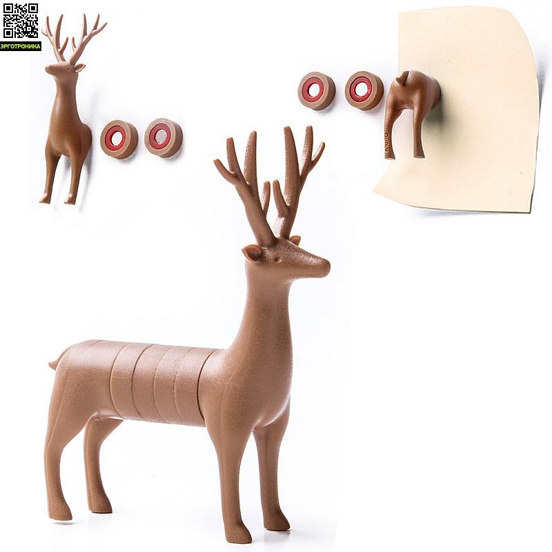 Набор магнитов My deerПорядок на столе<br>Набор из 6 магнитов<br>