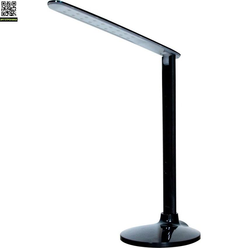 Светильник настольный светодиодный DE1714Настольный свет<br>Сенсорный выключатель<br>Диммер яркости<br>3 вида свечения<br>