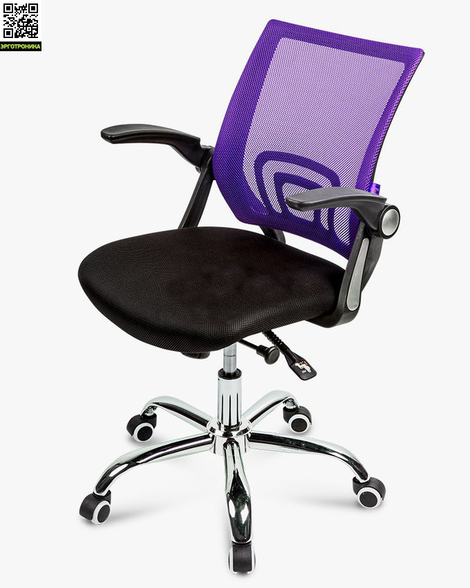 Офисное кресло Well PlusЭргономичные кресла<br>Откидные подлокотники<br>Регулировка высоты сиденья<br>механизм качания<br>