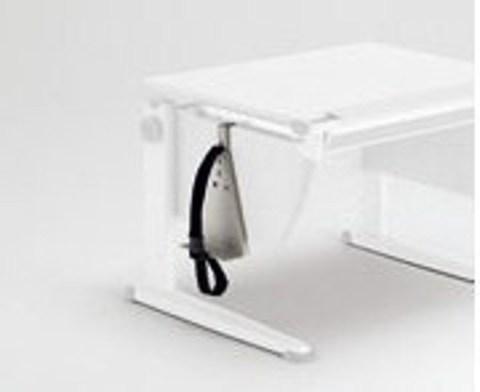 Приставка для крепления системного блока к боковине стола