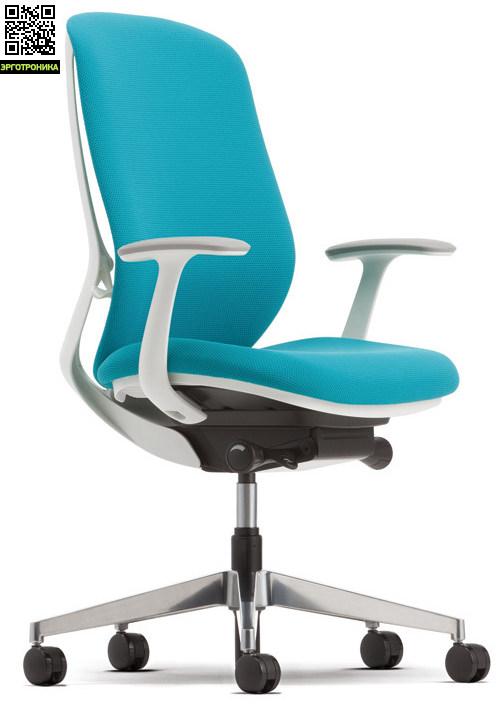 Офисное кресло Okamura SylphyЭргономичные кресла<br>Новинка 2015 года от Okamura<br>Кресло Sylphy оснащено функцией изменения кривой изгиба спинки кресла.<br>При сохранении S-образной формы позвоночника, «воздушная» структура спинки кресла позволяет пользователю комфортно разместиться в нем.<br>Сиденье кресла сделано из объединенного полиуретана, состоящего из трех частей с различным уровнем плотности. При минимальном кол-ве манипуляций можно настроить кресло под абсолютно различные формы пользователя, добиваясь максимального комфорта.<br>